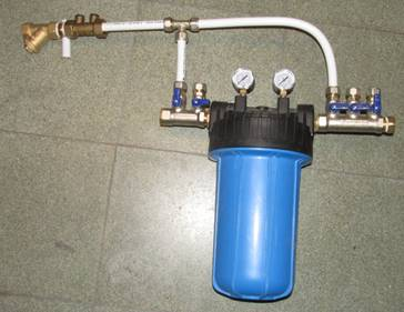 Regenwaterfilter Met Actief Kool In De Pers