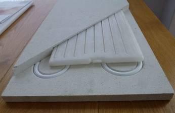 Vloerverwarming Met Pcm Mcp Faseveranderingsmateraal