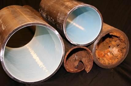 Epoxy coating leidingen