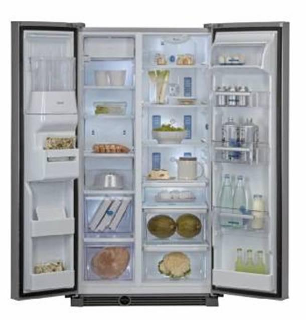 amerikaanse frigo 39 side by side koelkasten zijn koel vries combinaties ook genoemd amerikaanse. Black Bedroom Furniture Sets. Home Design Ideas