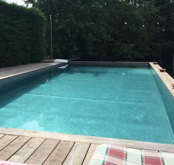 Inox zwembad de mooiste en beste technische oplossing - Zwembad kleur liner ...