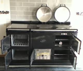 professionele ombouw van uw engelse petrol stoof naar elektrisch. Black Bedroom Furniture Sets. Home Design Ideas