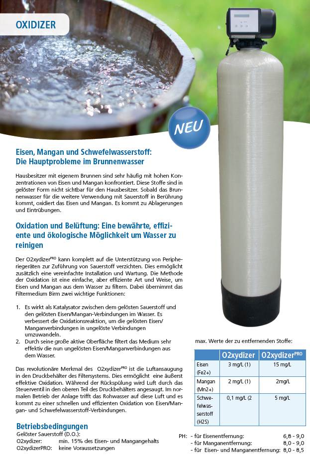 Ijzerfilter grondwater